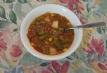 Vegetable Soup with Ground Chuck