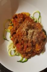 Veggie-Loaded Spaghetti Bolognaise