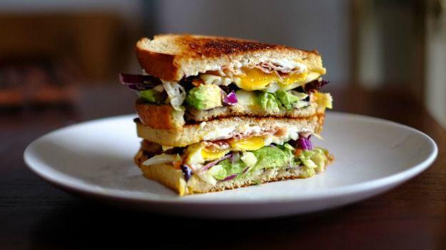 Veggie Sourdough Sandwich