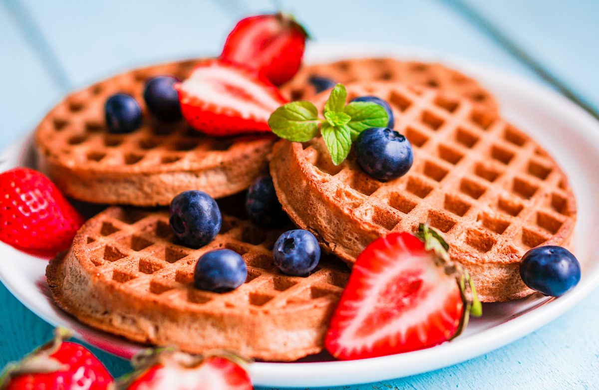 Waffles, Whole Grain