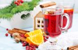 Warm Cranberry Cider