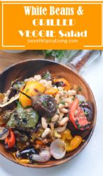White Beans and Grilled Vegetable Salad