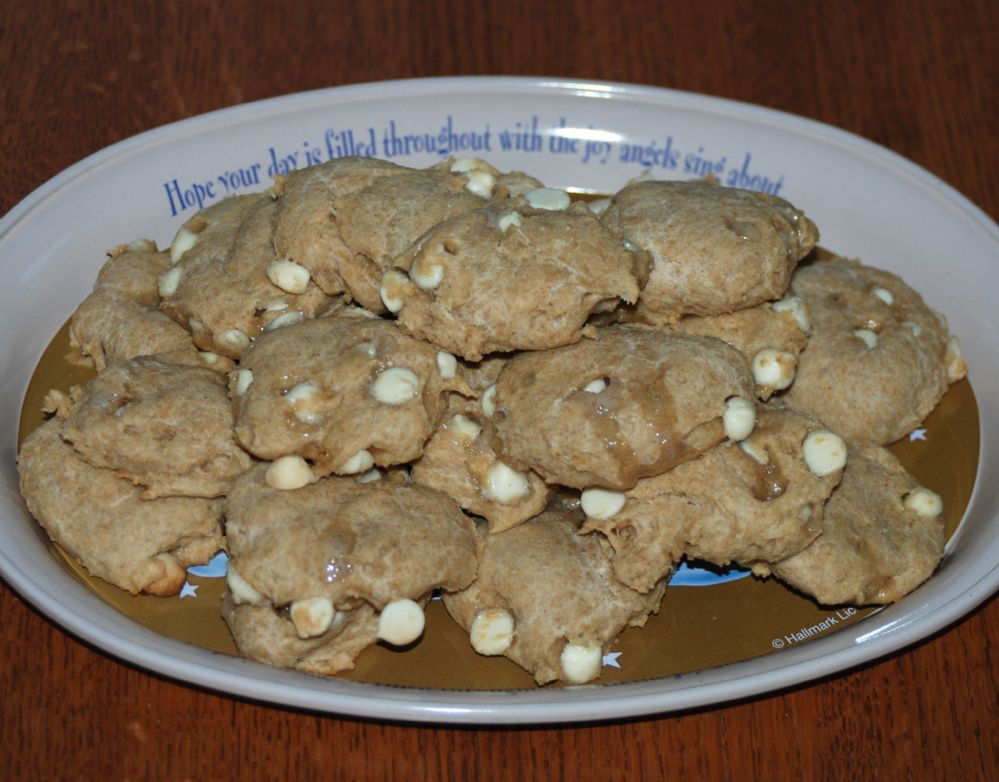 White Chocolate Chip Cookies - Diabetic friendly