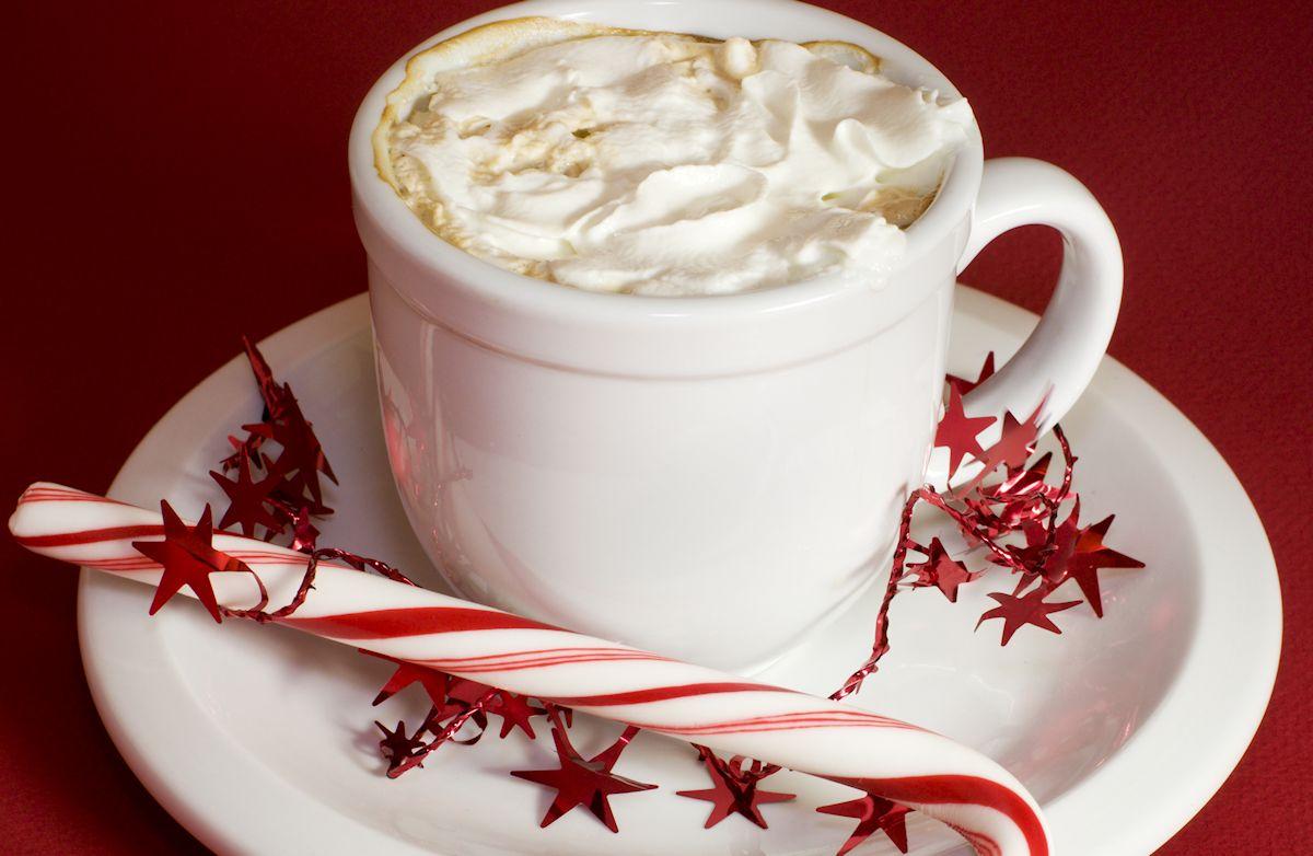 White Chocolate Peppermint Latte Recipe Sparkrecipes