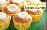 Whole Grain Banana Muffins