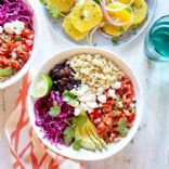 Whole Grain Veggie Burrito Bowl