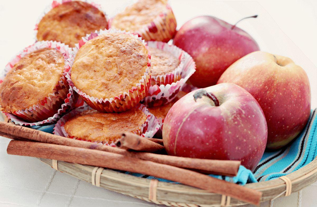 Whole-Wheat Apple Cinnamon Muffins