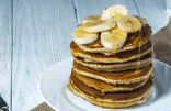 Whole-Wheat Banana Pancakes