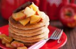 Whole-Wheat Cinnamon Pancakes