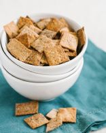 Whole Wheat Crackers Seasoned
