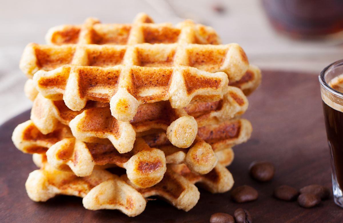 Whole Wheat Waffles Recipe | SparkRecipes