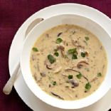 Wild mushroom soup, non-dairy