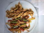 Xyngular Chicken Fajitas