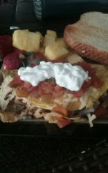 Yummy veggie omlette