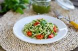Zoodles in a Veggie Pesto Sauce