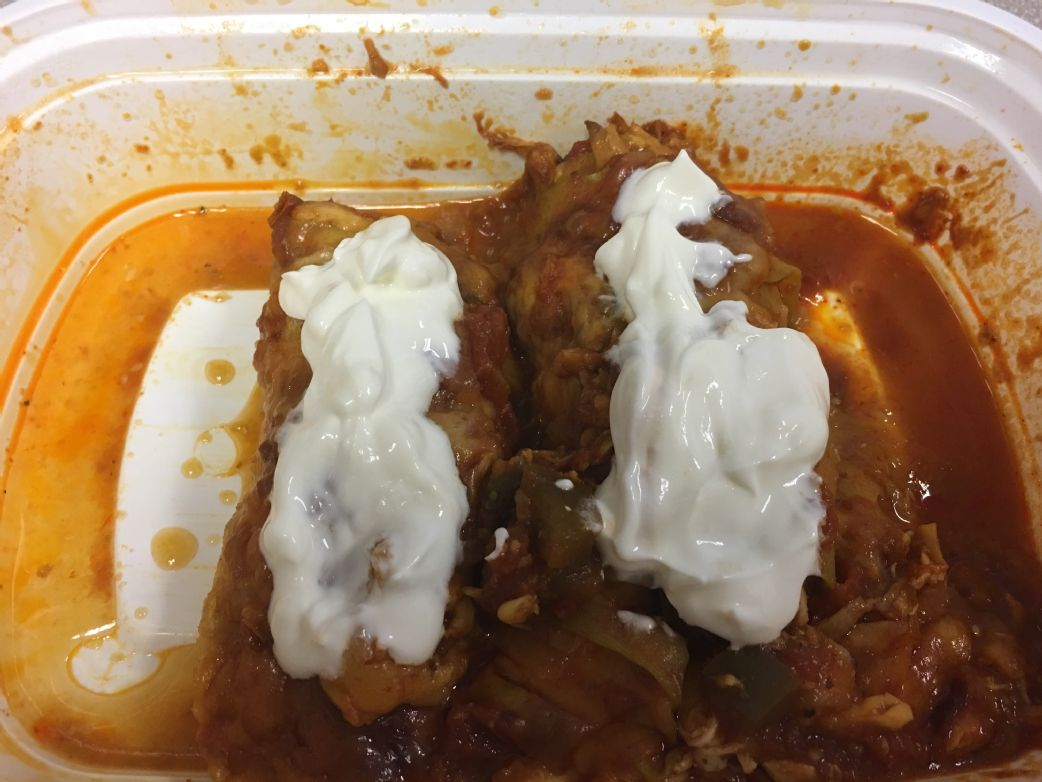Zucchini, Chicken & Cheese Enchiladas