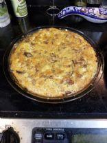 Zucchini-Crust Quiche