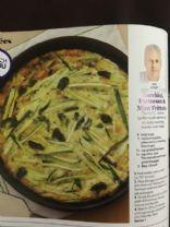 Zucchini Parmesan and Mint Frittata