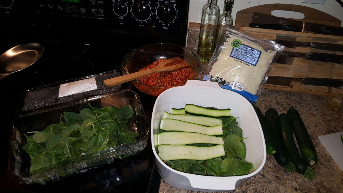 Zucchini Turkey Lasanga