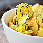 Keto Zucchini Crisps