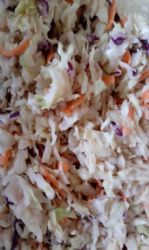 Homemade Cole slaw dressing