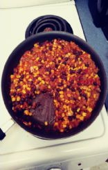 Full Dinner Sloppy Joes with Turkey, Corn & Black Beans