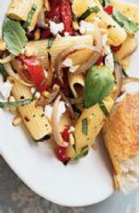 Balsamic Veggies and Pasta