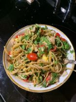 AVOCADO PESTO WITH TOMATOES FOR PASTA