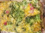broccoli cheese egg bake