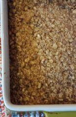 Maple & Brown Sugar Oatmeal Bake