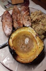 Maple Butter Acorn Squash