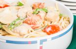creamy chicken pasta toss
