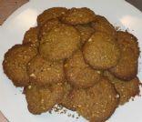crunchy nut cookies