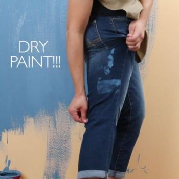 tuesday s tip how to remove dried acrylic paint from clothing