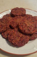 beet carrot quinoa burgers