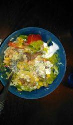 Imitation chipotle bowl