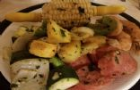 Shrimp Boil Hobo Dinner