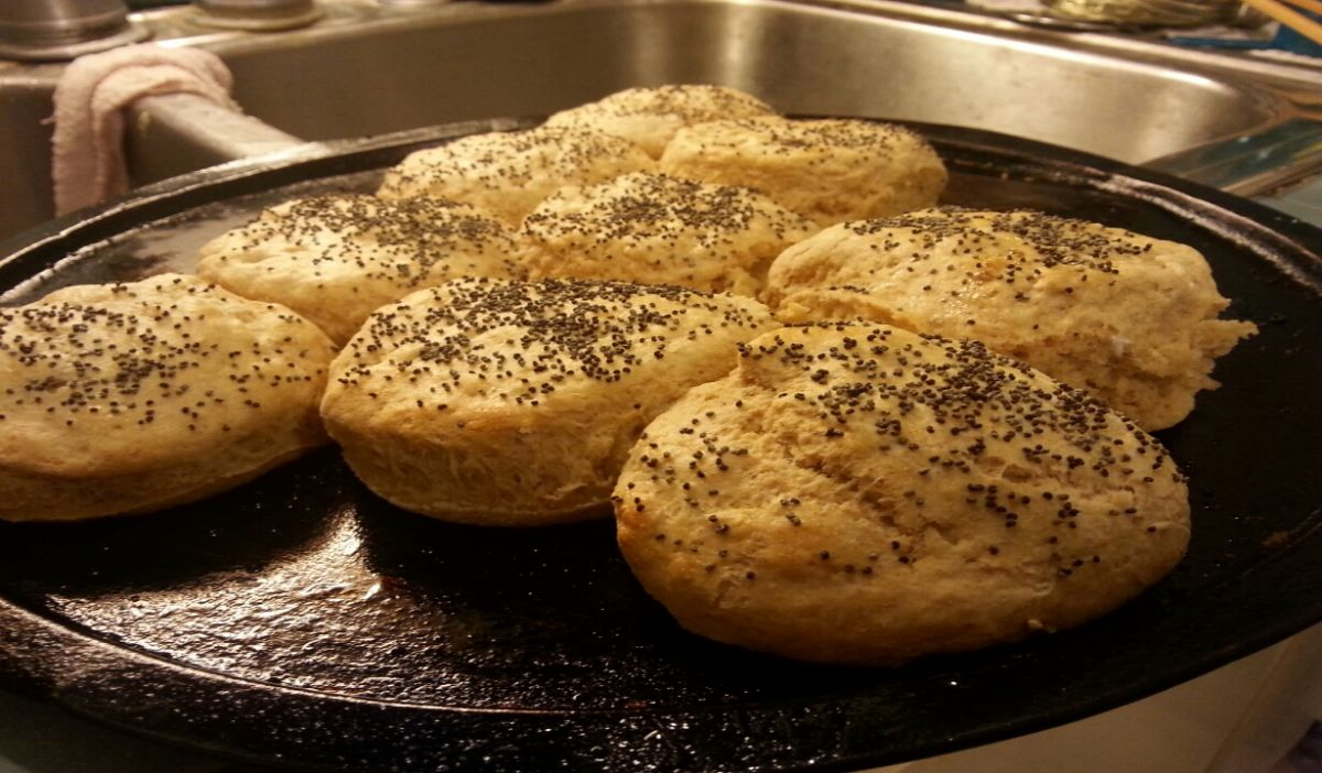 Whole wheat pastry biscuits