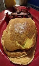 3 Ingredient Easy Keto Pancakes (Almond Flour, Eggs and Ghee)