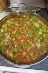 Okra Stew serves 8