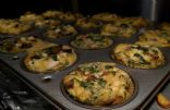 Mushroom Spinach Feta Egg Muffin Cups