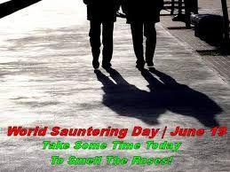 World Sauntering Day 2018 க்கான பட முடிவு