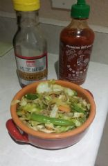 ground turkey cabbage stir fry