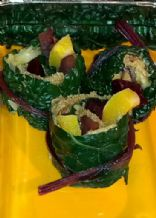 kale veggie roll for autumn