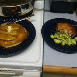 ketoSOUL Crustless Spinach & Mushroom Quiche