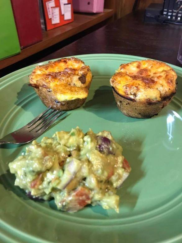 lowcarb breakfast muffins