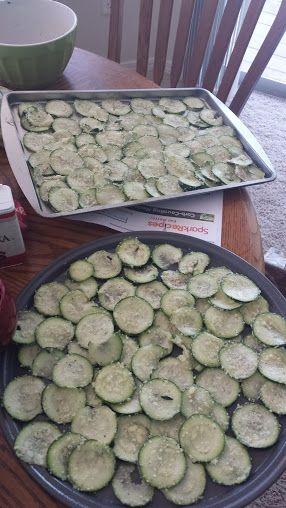 suzi's zucchini chips  1/2 cup