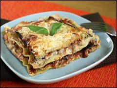 HG's EZ Cheesy Lasagna for Two