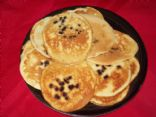 Martha White Blueberry Muffin Mix Pancakes (1 bag/mix makes 16 pancakes)