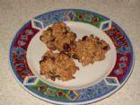 Oatmeal Chocolate Chip Cookies with Cranberries